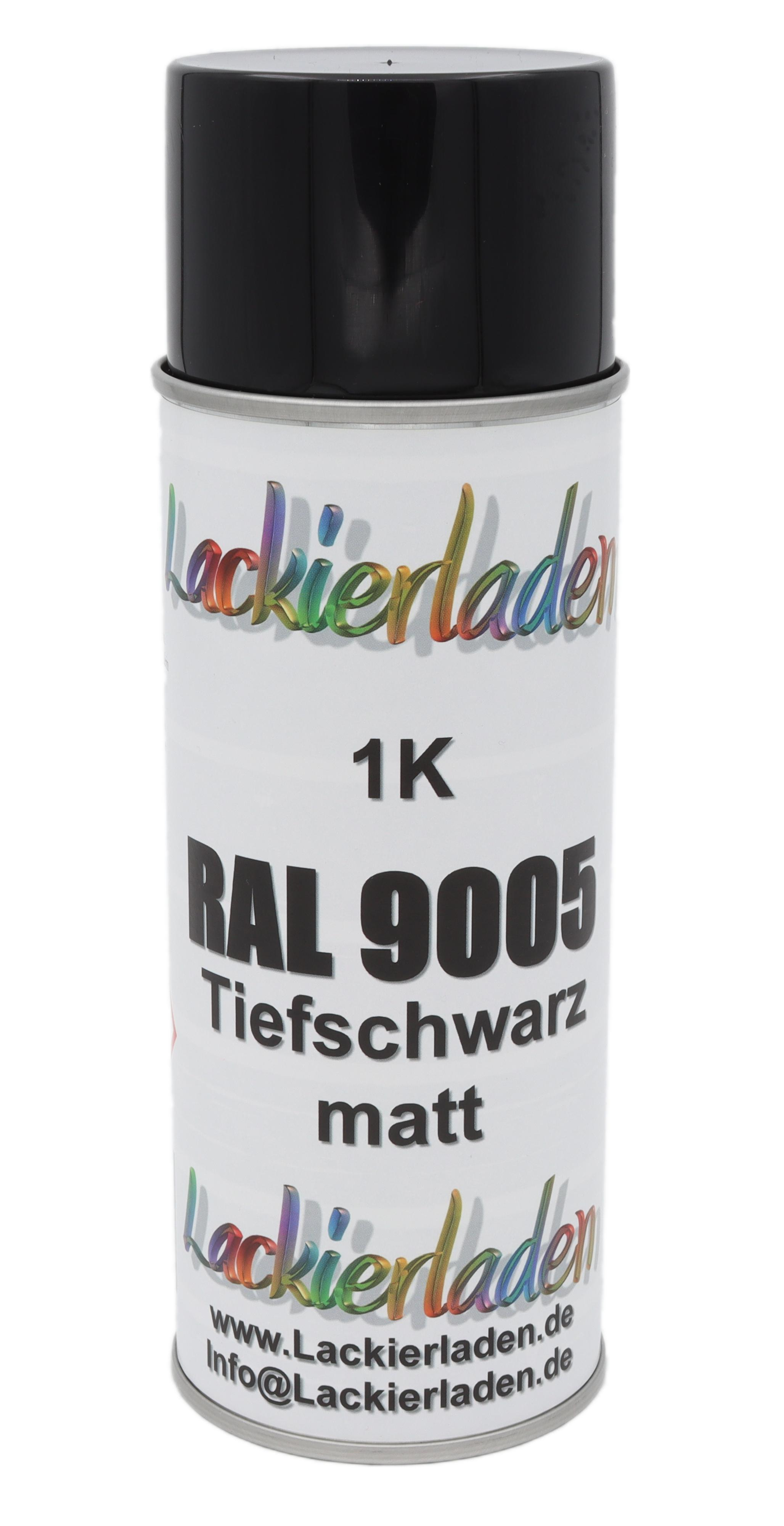 Spraydose schwarz matt 400 ml