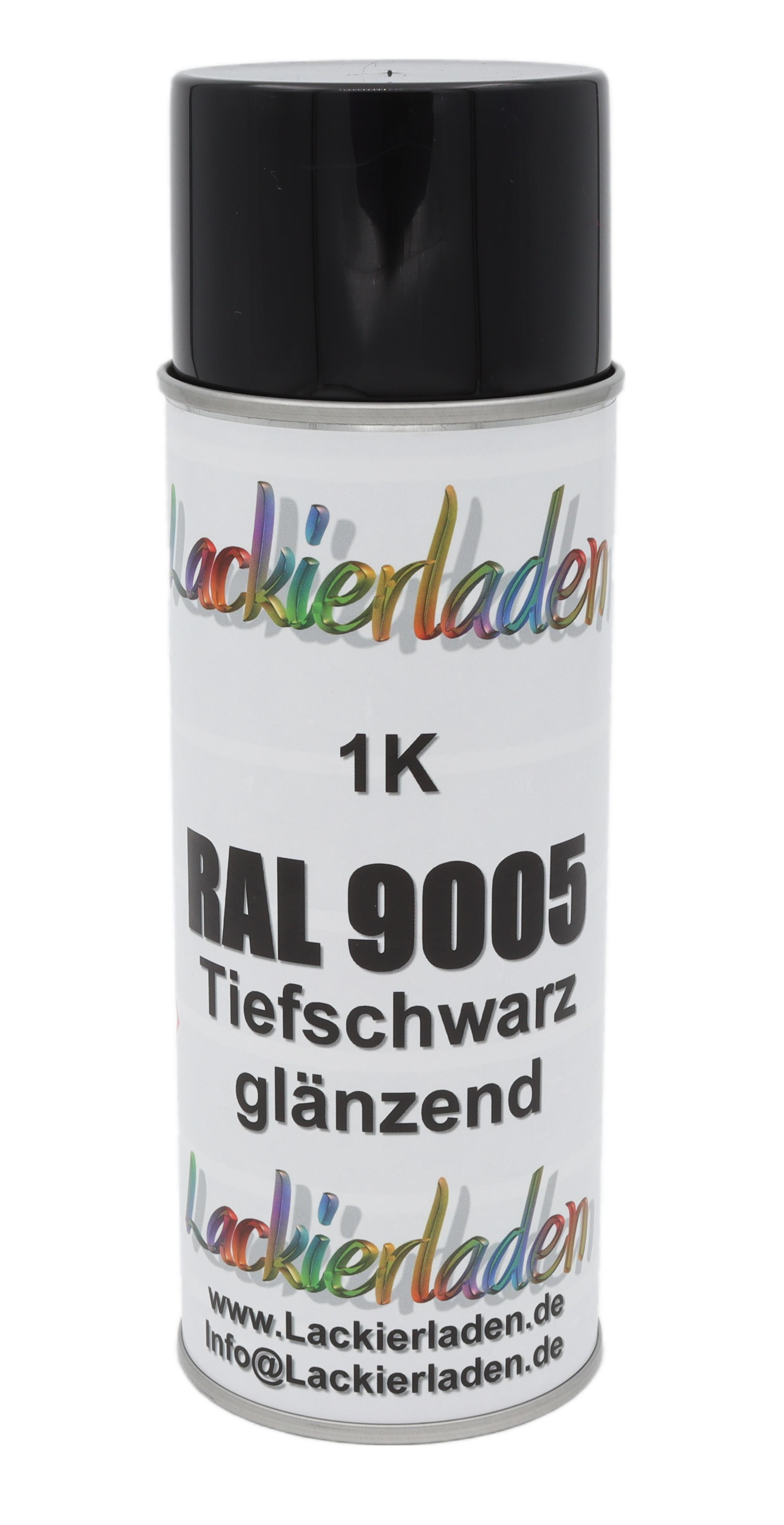 Spraydose schwarz glänzend 400 ml
