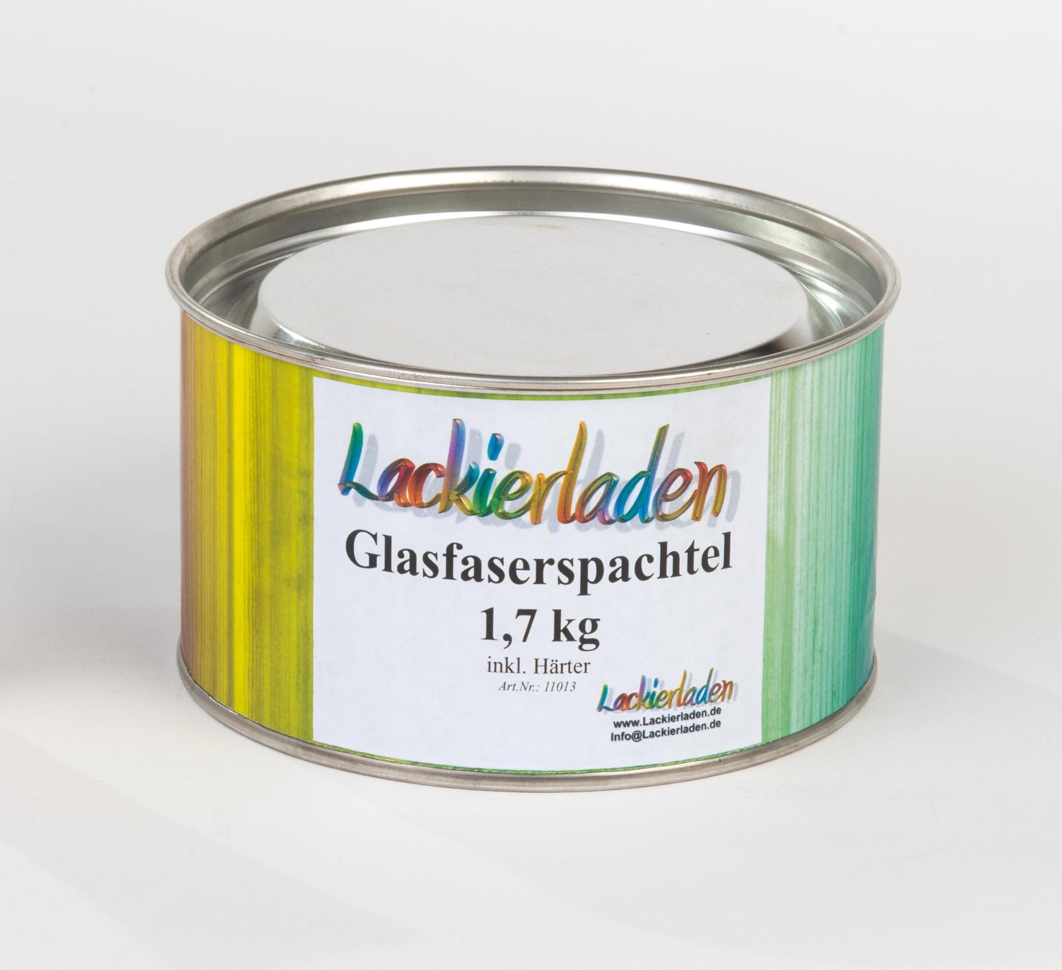 Glasfaserspachtel 1,7 kg inkl. Härter