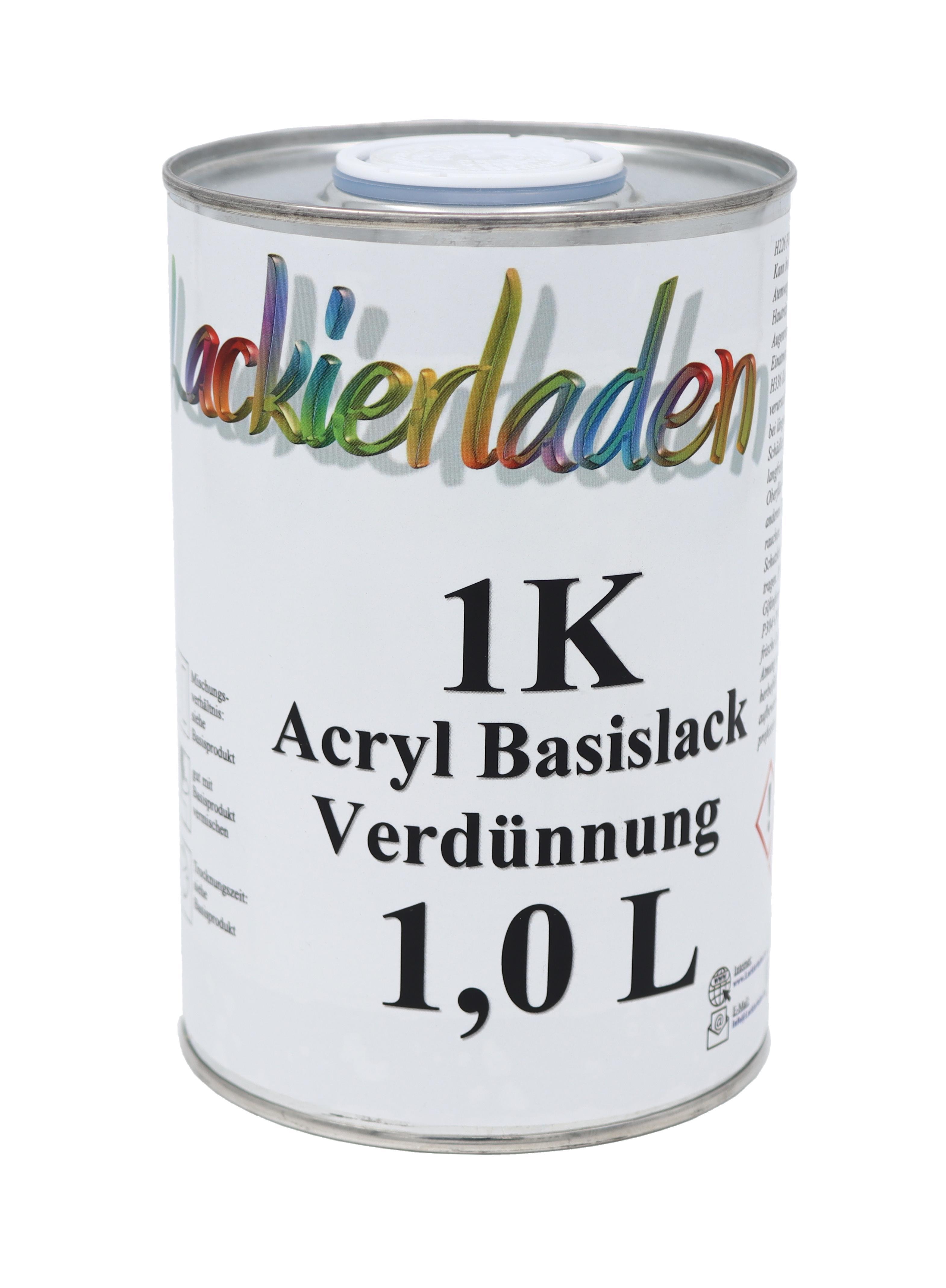 1K Acryl Basislack Verdünnung 1 L