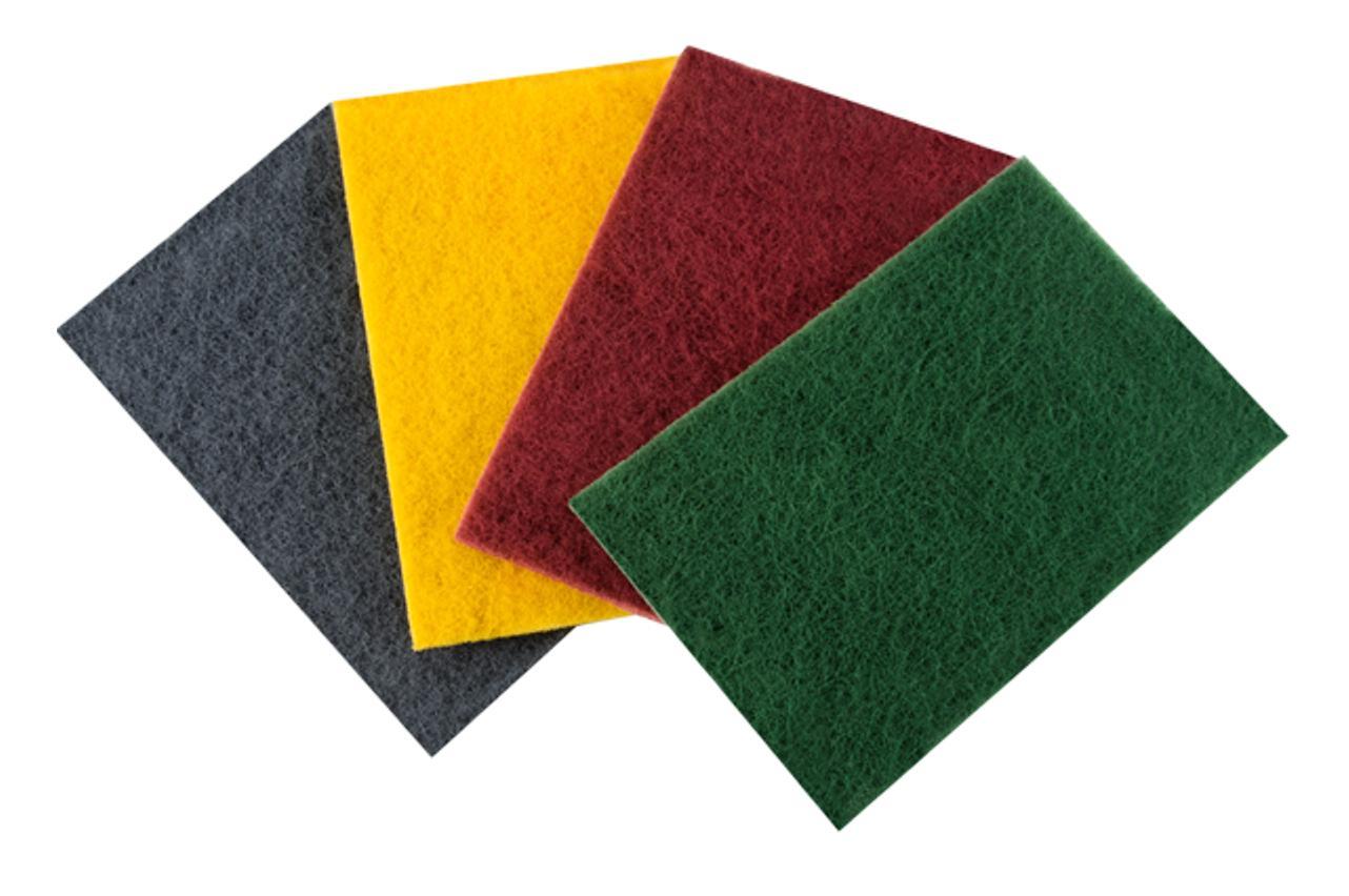 Schleifvlies Rechteckig 150 mm x 230 mm grün P240