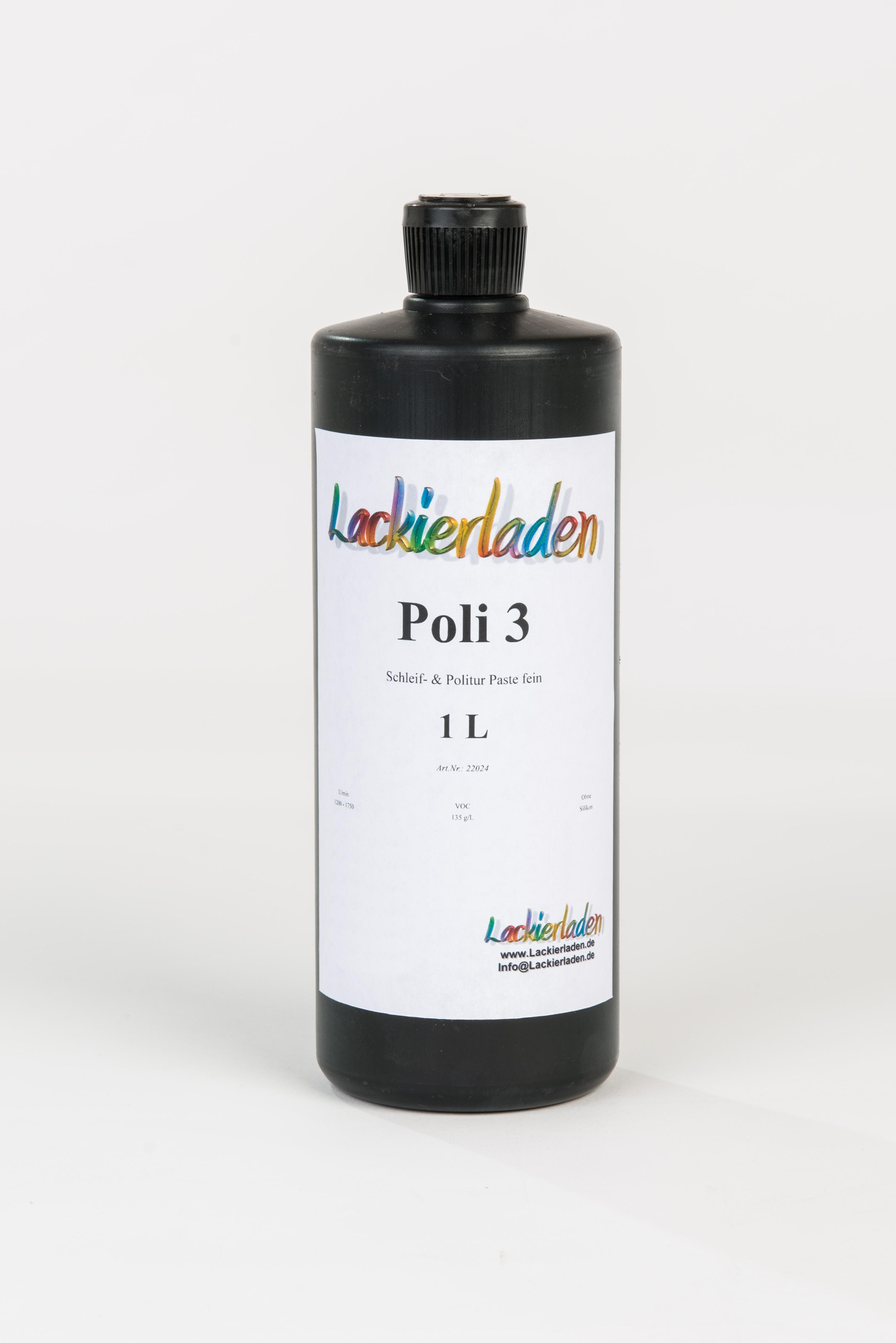 Poli 3 Schleif- & Politur Paste fein 1 L