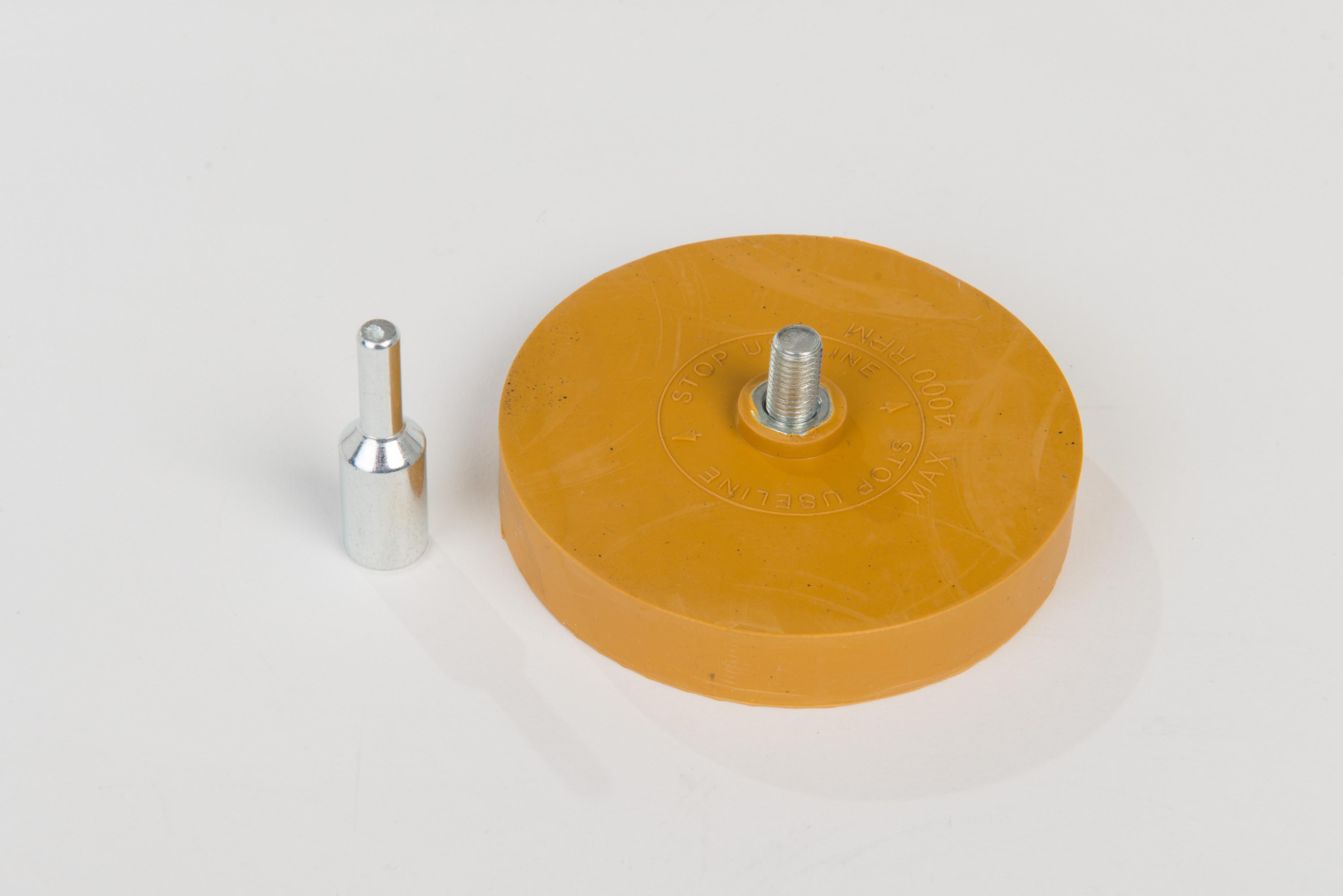 Radierscheibe mit Adapter