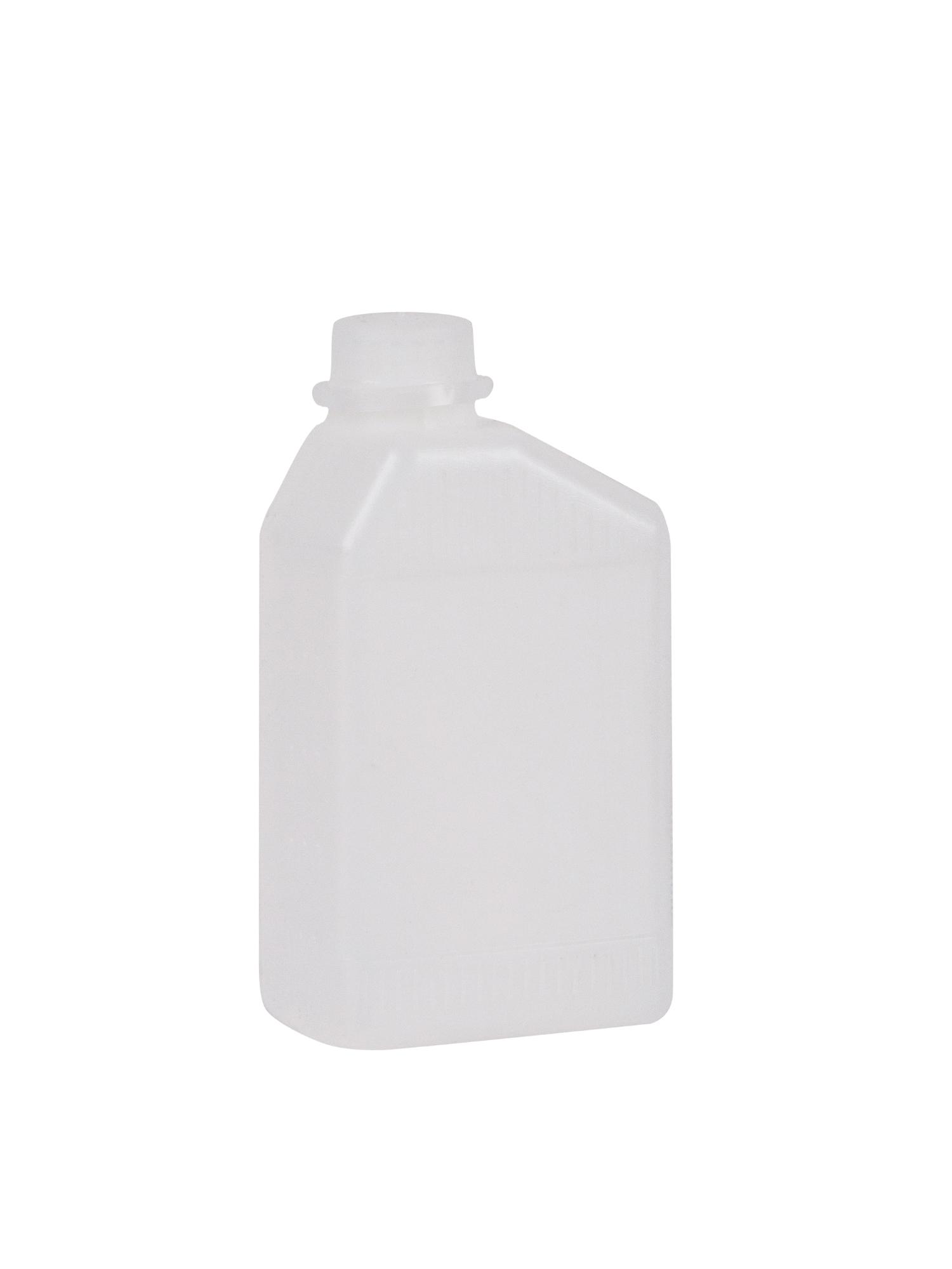 Plastikflasche mit Skala inkl. Deckel 0,5 L