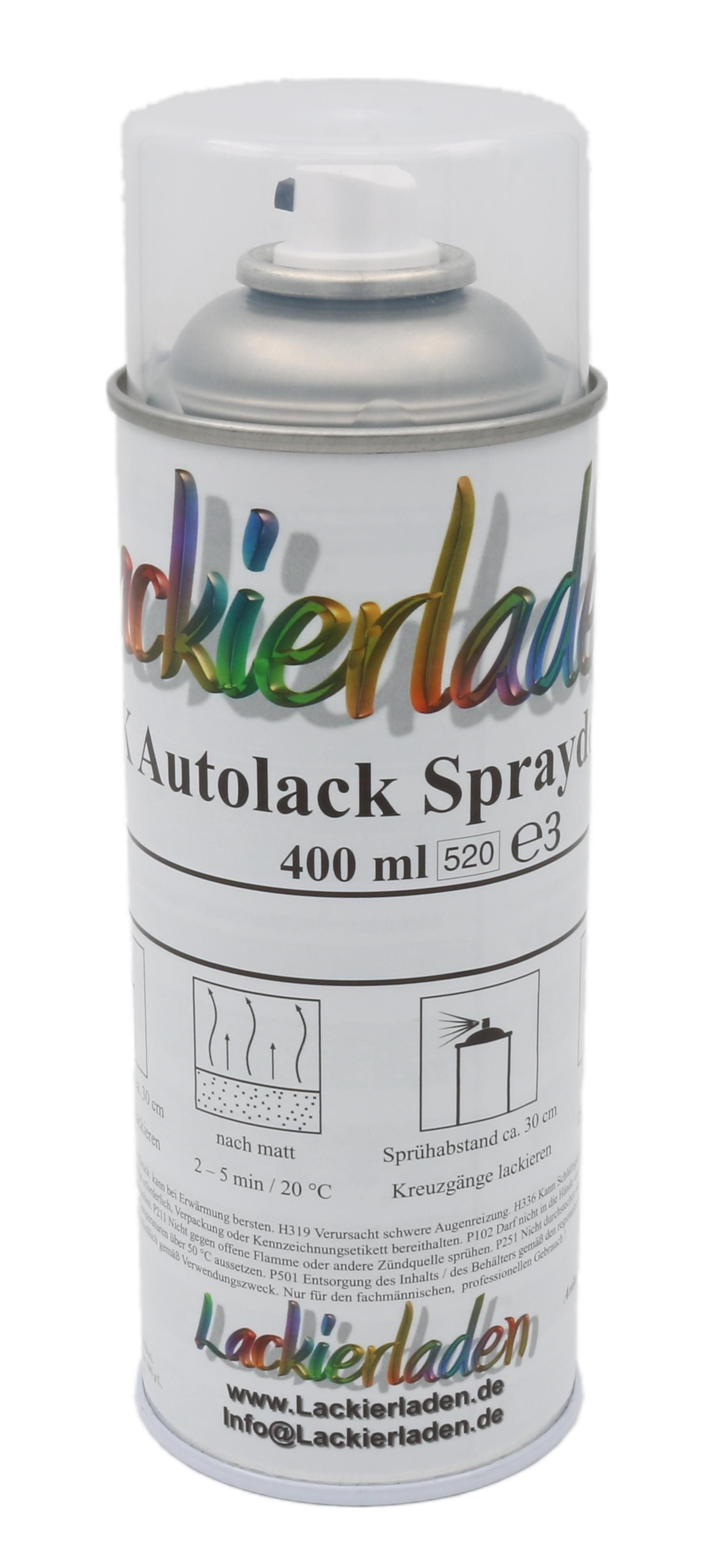 Autolack nach Formel in Spraydose 400 ml