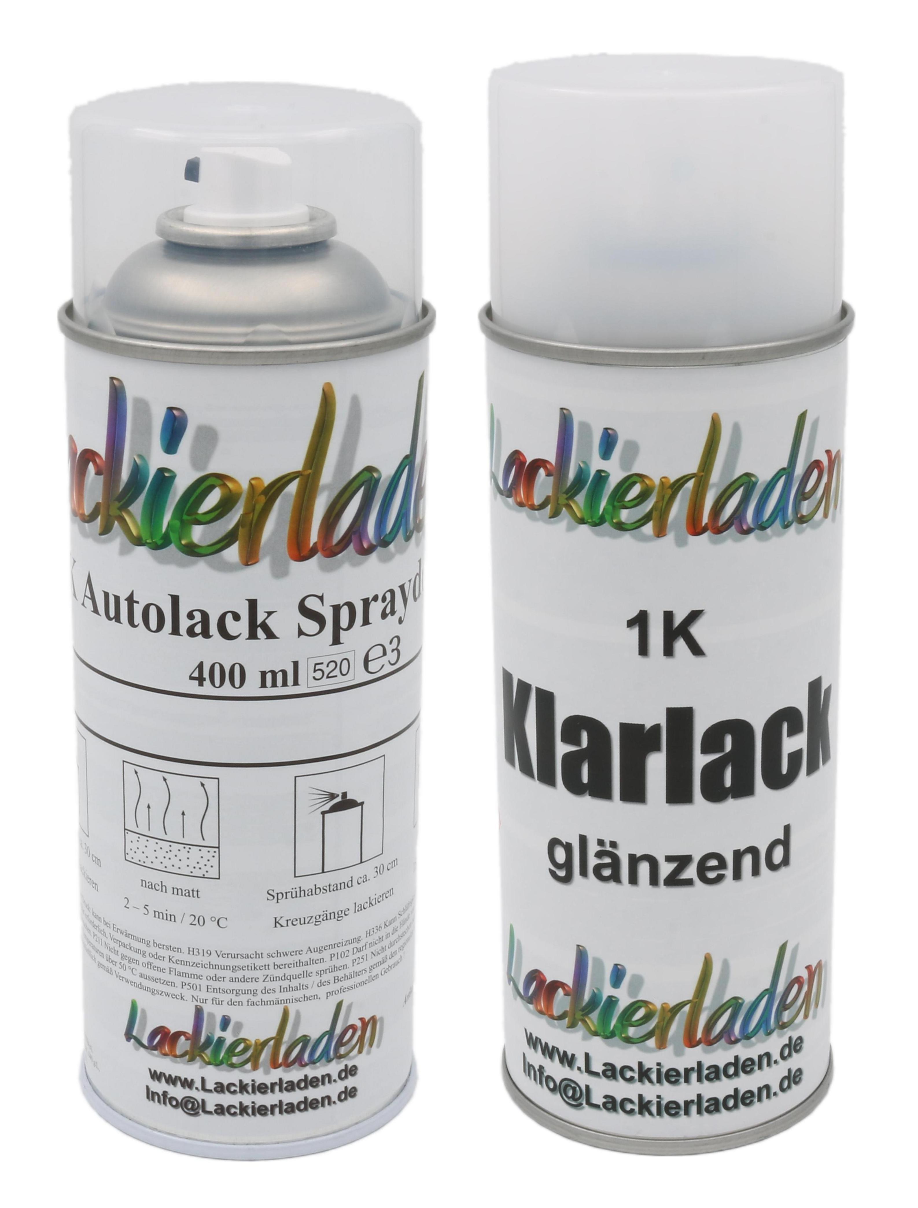 Autolack Nach Formel Im Spraydosen Set 2 X 400 Ml